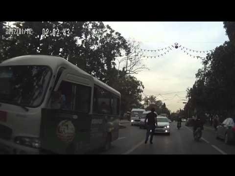 Драка на дороге в Сочи