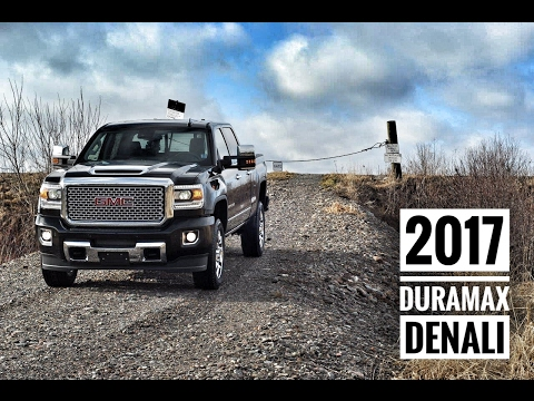2017 GMC 2500  Sierra Denali Duramax Diesel Crew Cab Road Test & Review