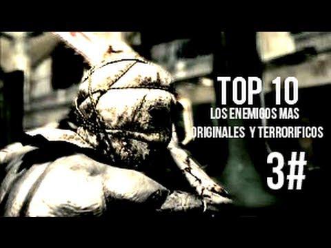 [Top 10] Los enemigos mas originales y escalofriantes de los videojuegos-Parte 3