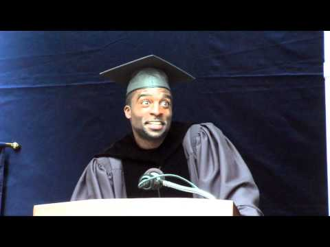 Actor Ransford Doherty '97 Addresses the Graduates (Commencement 2013)