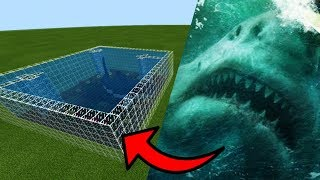 How To Make a MEGALODON Farm in Minecraft PE | MCPE Journalist