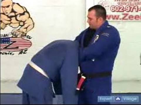 Gracie Brazilian Jujitsu Moves : Guillotine Choke Jujitsu Technique Image 1