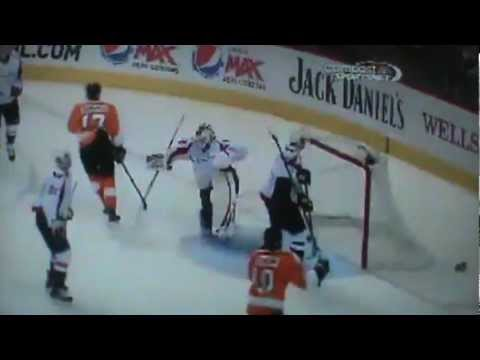 Washington Capitals Vs Philadelphia Flyers - Full Game 3rd Period 3/31/13