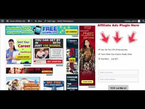 How To Put High Converting Affiliate Ads On Your Wordpress Blog