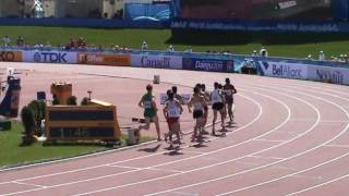 IAAF World Junior Championships Moncton 2010 - 1500m men heat 1 - Lauf 1
