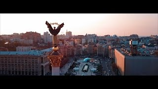 4K DJI MAVIC PRO - POINT OF INTEREST TEST: INDEPENDENCE STATUE, KIEV UA