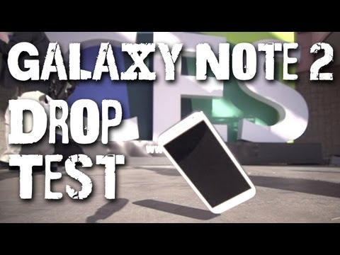 Drop Test: Galaxy Note 2 + SSD Giveaway