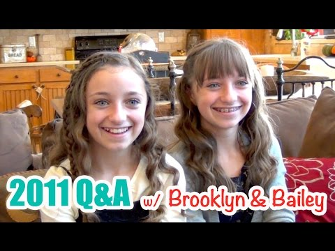 Brooklyn & Bailey 2011 Q&A | 5-Year Throwback