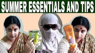 Summer Essentials and Tips | Bengali funny video | Make Life Beautiful