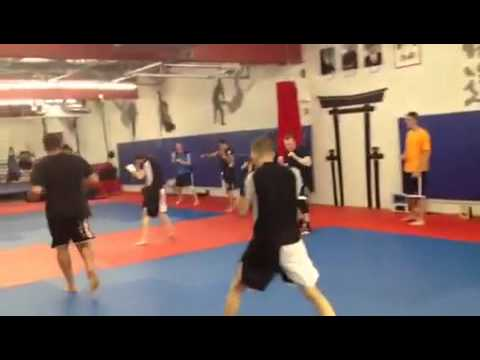 Team Link MMA Worcester MA Gabriel Gonzaga doing the class Image 1