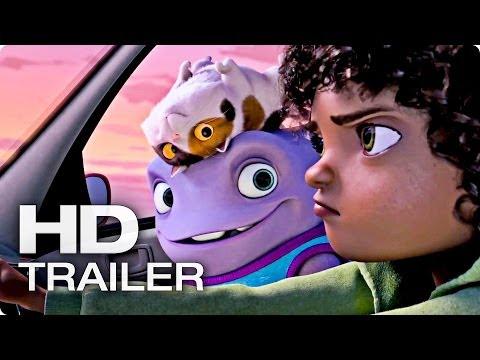 HOME - EIN SMEKTAKULÄRER TRIP Trailer Deutsch German | 2014 Movie [HD]