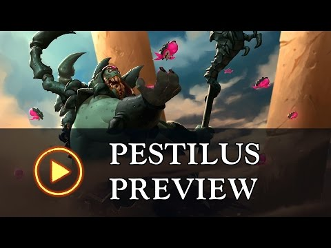"Battlerite Champion Preview: Pestilus ""Lord Of The Swarm"""