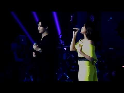 Kim Ji Hoon ft Raisa - Terjebak nostalgia (Konser RaisaXIsyana 2017)