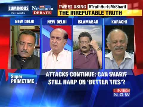 The Newshour Debate: Narendra Modi's 'proxy war' punch - Part 3 (12th August 2014)