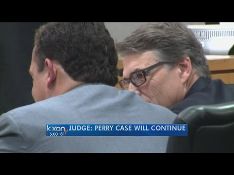 Judge denies Rick Perry's attempts to dismiss indictment