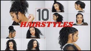 Easy Back To School Curly Hairstyles