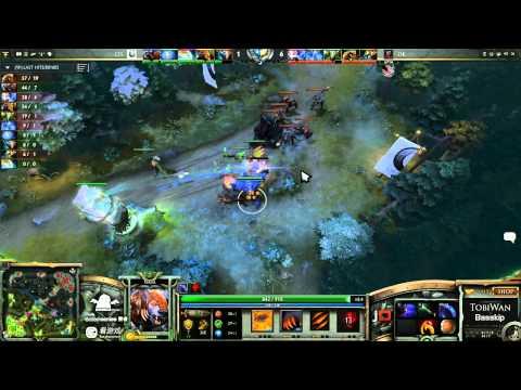 DK vs CIS Game 1- SinaCup China Dota 2 WB Quarter Final - TobiWan & BassKip