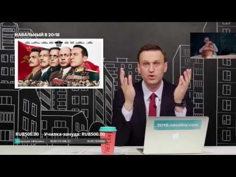 Навальный про фильм СМЕРТЬ СТАЛИНА и его запрет