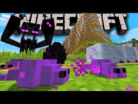 Minecraft 1.8 Snapshot: New Monster Endermite Dragon Mystery Fast Minecart Creeper Flee Mob AI