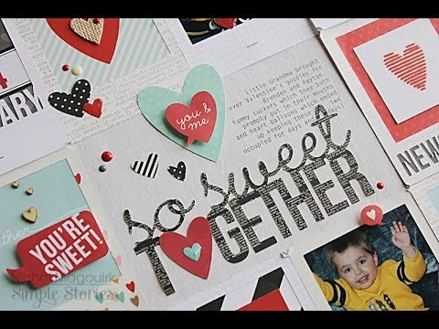 Simple Stories | Die Cutting Life Documented Cards