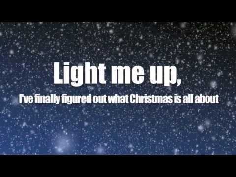 Owl City (ft. TobyMac) ~ Light of Christmas - Lyrics on Screen...