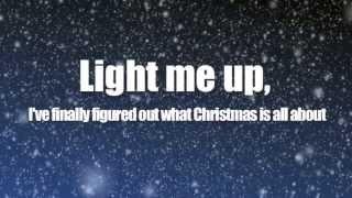 Owl City - Light of Christmas ft. TobyMac (Lyric Video)