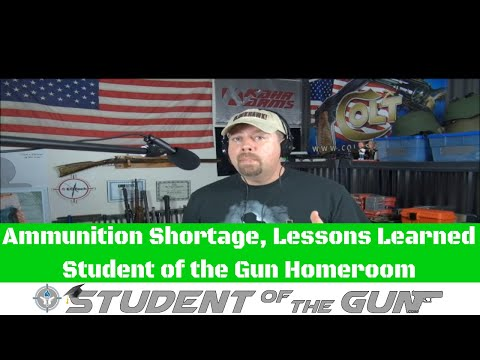 Ammunition Shortage, Lessons Learned
