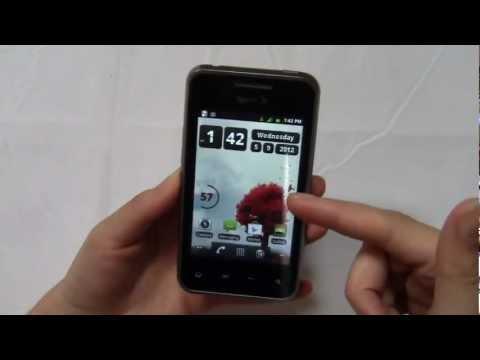 LG Optimus Elite Review Part 1
