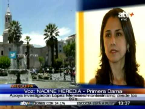 TUTEVE.TV/ Nadine Heredia: