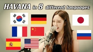 Download Lagu One girl singing 'Havana' in 8 different languages (by.Chuther)/ 하바나를 8개 국어로 부르면??! Gratis STAFABAND