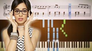 Download Lagu Camila Cabello - Never Be The Same - Piano Tutorial + SHEETS Gratis STAFABAND