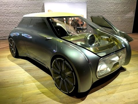 BMW MINI VISION NEXT 100 Concept Car: A MINI vision of Car Sharing for 2040? TECH REVIEW (2 of 4)