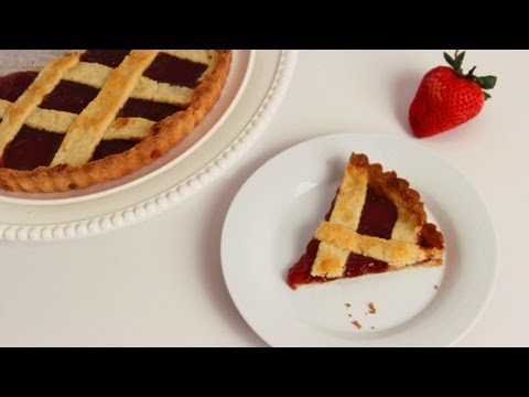 Strawberry Jam Tart Recipe - Laura Vitale - Laura in the Kitchen Episode 568