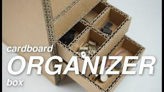 DIY Cardboard Organizer (SMALL)
