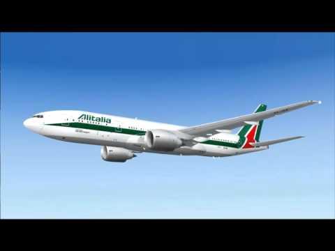 AZ856 777-200ER ALITALIA MILAN - ABU DHABI