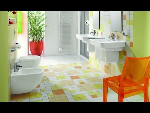 Bathroom tile design ideas youtube for Bathroom interior design kerala