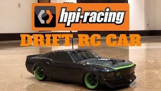 HPI FORD MUSTANG DRIFT RC CAR MUSCLE CAR CRASH