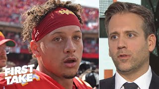 Max Kellerman is convinced Patrick Mahomes is the best QB in the NFL | First Take
