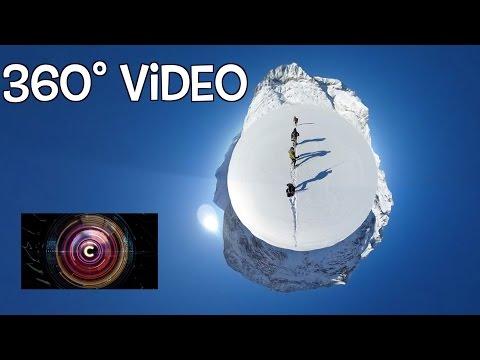 Breathtaking 360 views of Aletsch Glacier in the Swiss Alps - BBC Click