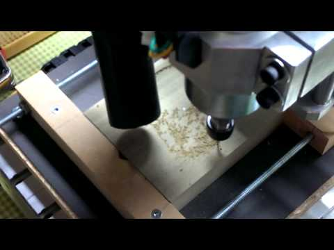 3020 CNC in action
