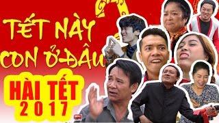 Hài Tết Mới Nhất | Tết Này Con ở Đâu | Phim Hài Chiến Thắng, Quang Tèo