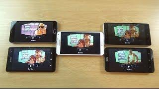 M2 Note VS Xperia C4 VS Note 3 VS K3 Note VS Zenfone 2 Gaming - GTA San Andreas!