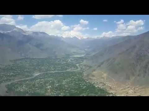 Capt.Janjua amazing Chitral Pakistan ATR42 LANDING