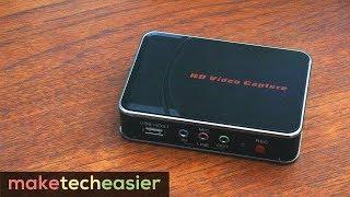 AGPTek HD Video Capture REVIEW