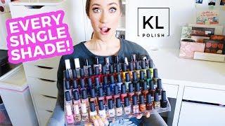 My KL Polish Collection... 😱