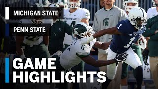 Highlights: Michigan State Spartans vs. Penn State Nittany Lions | Big Ten Football