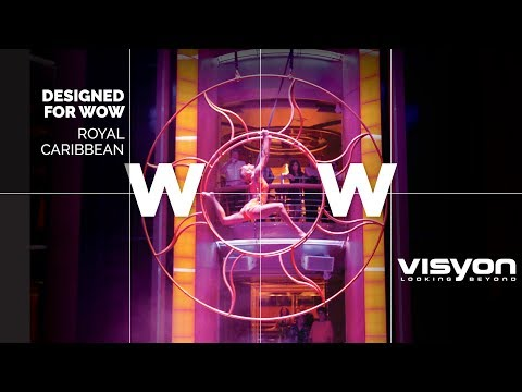 Teaser WOW digital campaign - Royal Caribbean