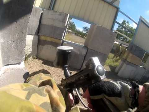 GoPro Hero 3   Chest mount   Paintball