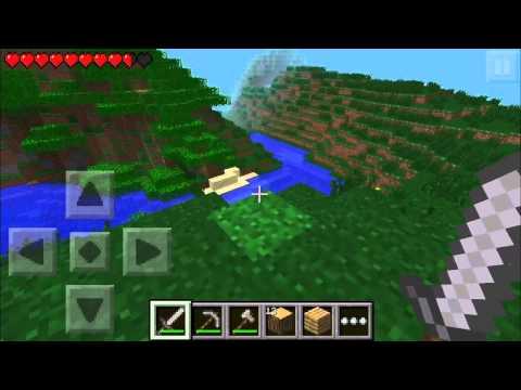 Minecraft PE Survival: Ep.1 - NPC Village