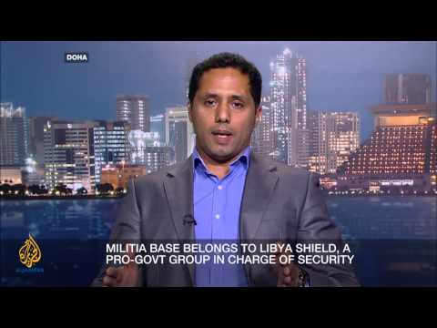 The battle for security in Libya